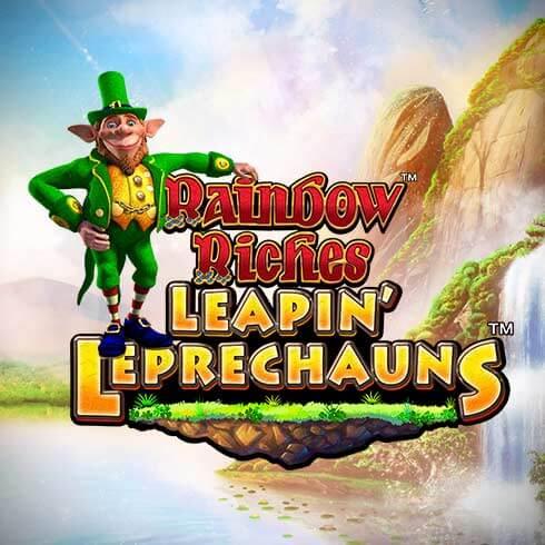 rainbow riches leapin leprechauns casino